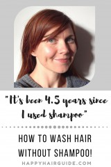 How To Wash Hair Without Shampoo