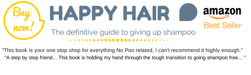how to give up shampoo