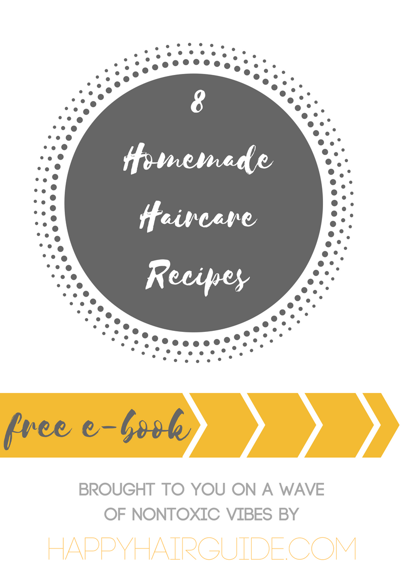 Amazing free ebook full of homemade healthy hair recipes (especiially good for those interested in No Poo)