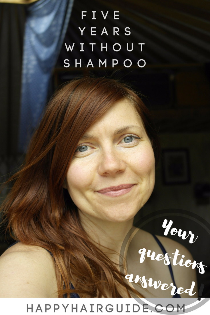 No Shampoo for 5 years - every question answered!
